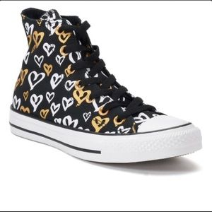 Converse shoes   Women's black high top  